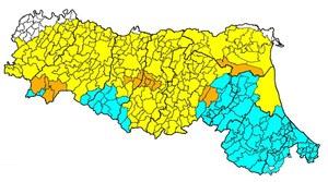 cartina sismica Emilia Romagna